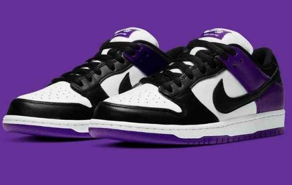 Everyone Love to Cop the Nike SB Dunk Low Court Purple Shoes