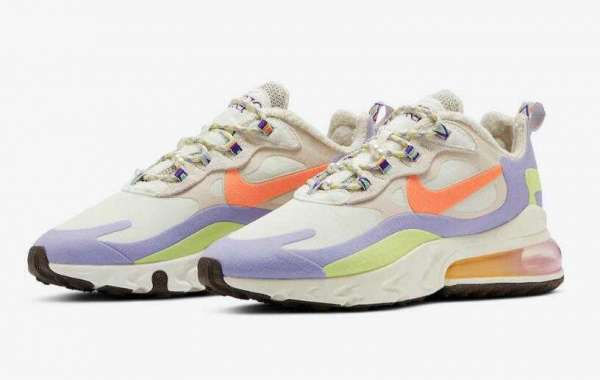 DC3276-101 Nike Air Max 270 React Fleece Lined Native Patterns