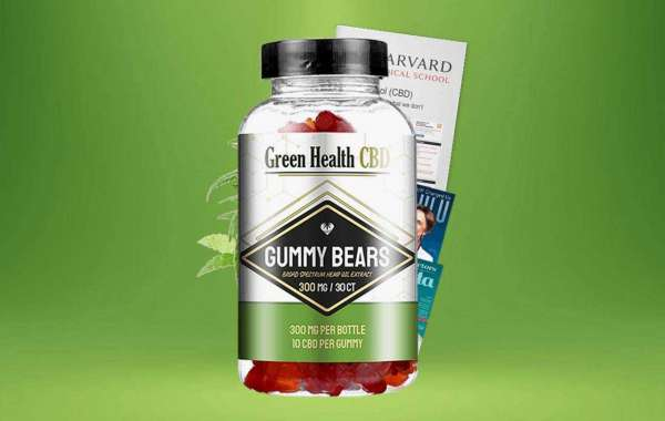 Green Health CBD Gummies: Stay Free From Anxiety