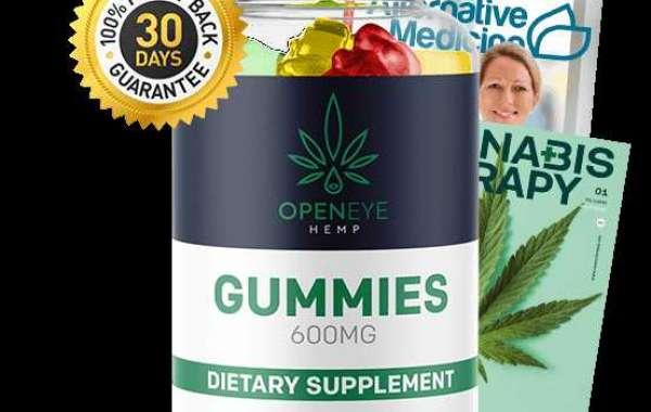 Open Eye CBD Oil, CBD Cream & CBD Gummies