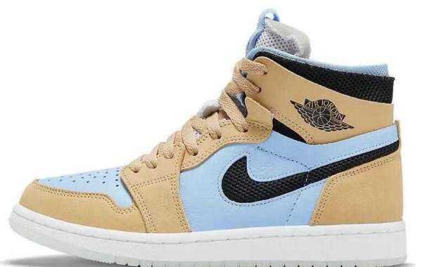 CT0979-400 Air Jordan 1 Zoom CMFT Psychic Blue is Available Now