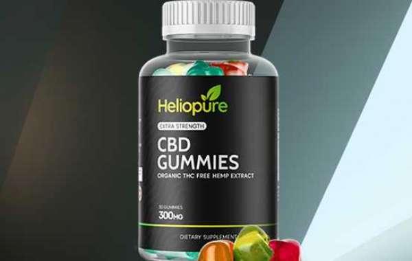 Heliopure CBD Gummies: Reviews, Benefits, Work, Uses