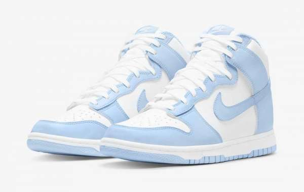 The most beautiful Nike Dunk High Aluminum to released on September 30th, 2021